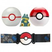 Pokemon - Clip 'N' Go Pokeball Belt Munchlax