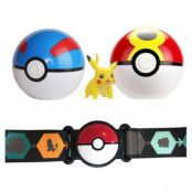 Pokemon - Clip 'N' Go Pokeball Belt Pikachu
