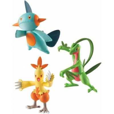 Pokemon - Combusken, Marshtomp & Grovyle