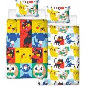 Pokemon - Duvet Set Reversible Newbies 135 x 200 cm