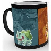 Pokemon - Evolve Heat Change Mug