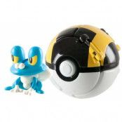 Pokemon Froakie - Throw 'n' Pop Poké Ball