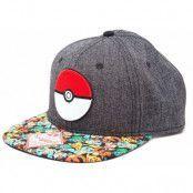 Pokemon - Poke Ball Snap Back Baseball Cap