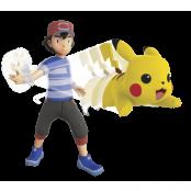 Pokémon Feature11cm Ash + Pikachu