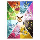 Pokémon, Maxi Poster - Eevee Evolution