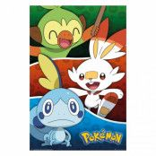 Pokémon, Maxi Poster - Galar Starters