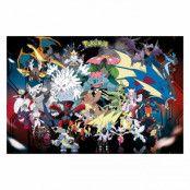 Pokémon, Maxi Poster - Mega