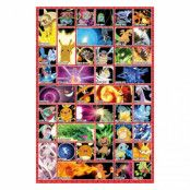 Pokémon, Maxi Poster - Moves