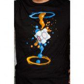 Portal 2 Gel Splatter T-Shirt