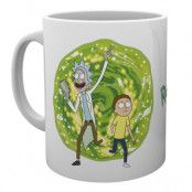Rick And Morty Mugg Portal