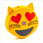 Spralla Smiley Powerbank Cat Heart Eyes
