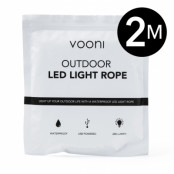Vooni LED-slinga för Utomhusbruk 2m