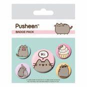 Pusheen, 5x Pins