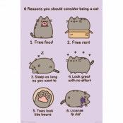 Pusheen, Maxi Poster - Reasons to be a Cat