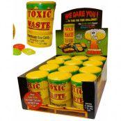 12 stk Toxic Waste Hazardously Supersurt Godis - Hel låda
