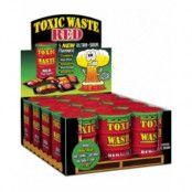 12 stk Toxic Waste Red Supersurt Godis - Hel låda