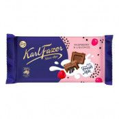 Karl Fazer Raspberry Liquorice - 145 gram