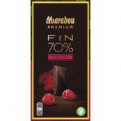 Marabou Premium 70% Kakao - Rasberry / Hallon