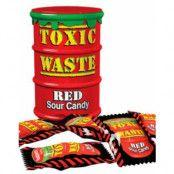 Toxic Waste Red Supersurt Godis