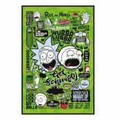 Rick and Morty, Maxi Poster - Citat