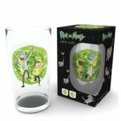 Rick And Morty Stort Glas