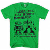 Legalize Gay Robot Marriage, Basic Tee