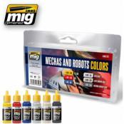 Mechas and Robots Color Set 7127