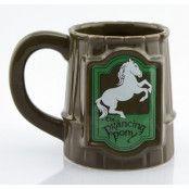 Sagan Om Ringen 3D Mugg Prancing Pony