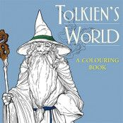 Tolkiens Värld Målarbok för Vuxna