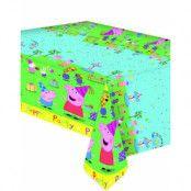 120x180 cm Plastduk med Födelsedagsmotiv - Peppa Pig