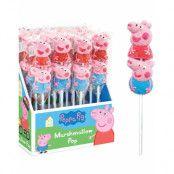 16 stk Greta Gris Marshmallow Pops (USA Import) - Hel Burk