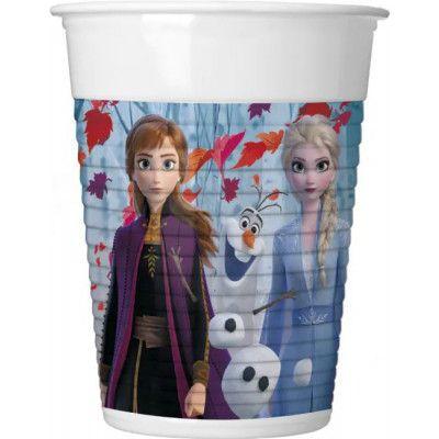 8 stk Plastmuggar 200 ml - Frost 2 - Disney Frozen 2