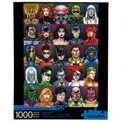 DC Comics - Faces Jigsaw Puzzle