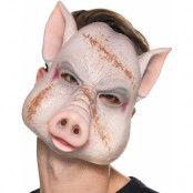 Evil Pig - Mask i Tunn Plast