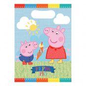 Kalaspåsar Greta Gris/Peppa Pig - 8-pack