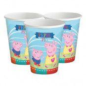 Pappersmuggar Greta Gris/Peppa Pig - 8-pack