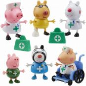 Peppa Pig Doctors & Nurses Figure Pack