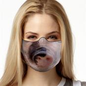 Pig Face Mask, TEXTILE FACE MASK