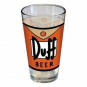 Duff Beer Ölglas