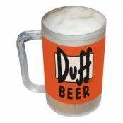Duff Beer Frysbart Ölglas