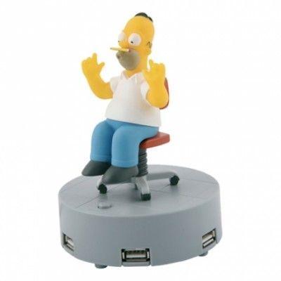 Homer Simpson USB-Hubb