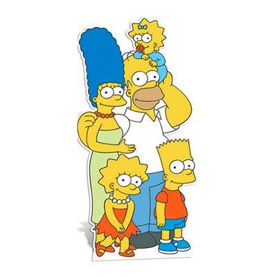 Simpsons Kartongfigur