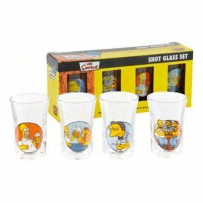 Simpsons Shotglas