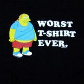 Simpsons Worst T-shirt Ever