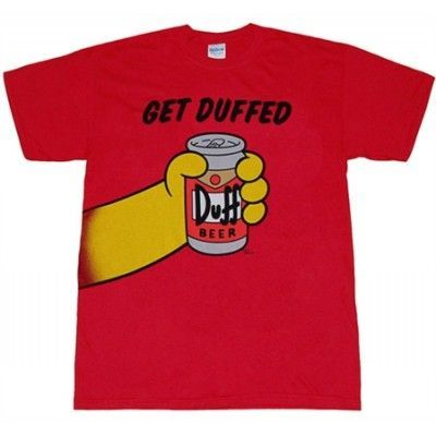 The Simpsons - Get Duffed T-Shirt, Basic Tee