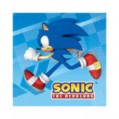 16 stk Servietter 33x33 - Sonic the Hedgehog