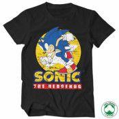Fast Sonic - Sonic The Hedgehog Organic Tee, 100% Organic T-Shirt
