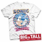 Sonic The Hedgehog Big & Tall T-Shirt, Big & Tall T-Shirt