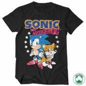 Sonic The Hedgehog - Sonic & Tails Organic Tee, 100% Organic T-Shirt