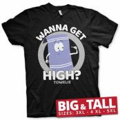 South Park / Towelie - Wanna Get High Big & Tall T-Shirt, Big & Tall T-Shirt